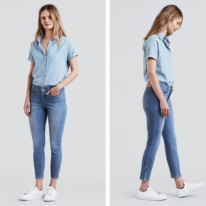 Levi's 311 Shaping Skinny Ankle Snap Jeans